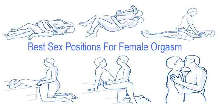 Best sex positions for a woman to orgasm
