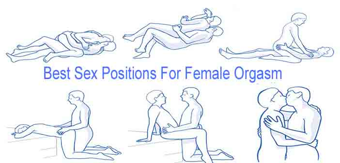 Sex position for female orgasm